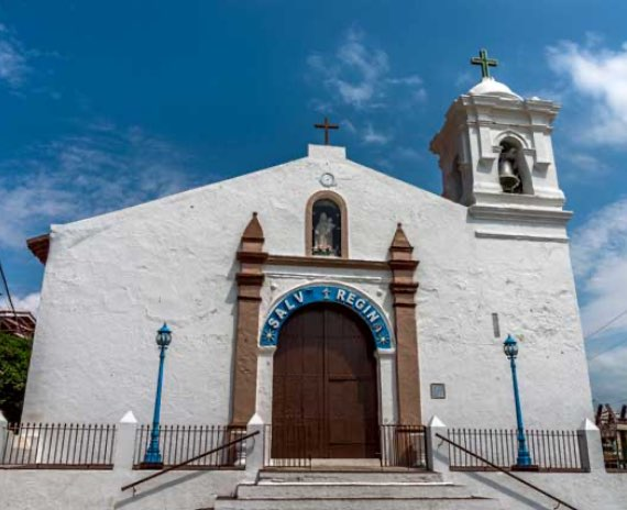 church of San Pedro on Taboga Island