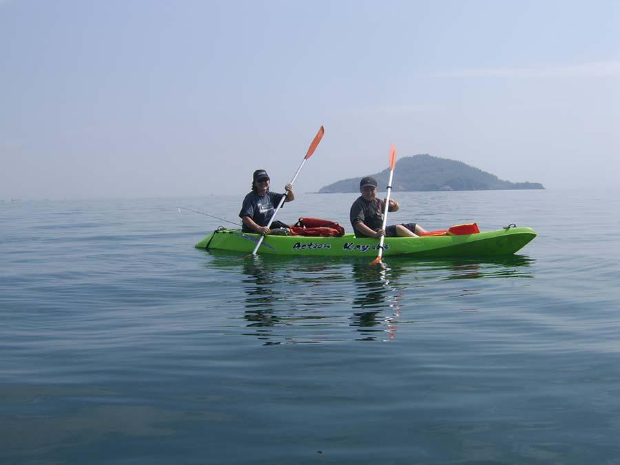kayak taboga island panama