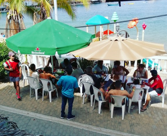 restaurante isla taboga panama