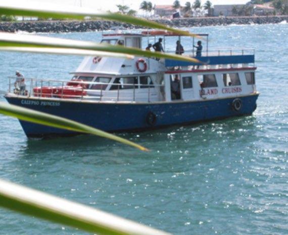 taboga ferry taboga island map